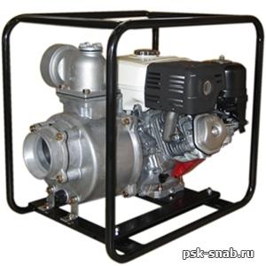 Бензиновая мотопомпа для чистой или слабозагрязненной воды Daishin SCR-100HX