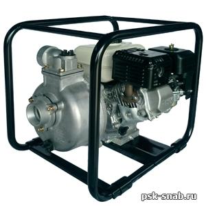 Бензиновая мотопомпа для чистой или слабозагрязненной воды Daishin SCR-50HX
