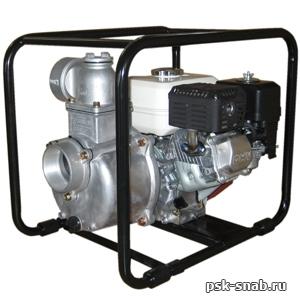 Бензиновая мотопомпа для чистой или слабозагрязненной воды Daishin SCR-80HX