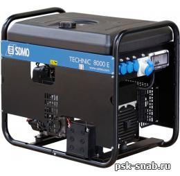 Бензиновый генератор SDMO TECHNIC 8000 E с АВР