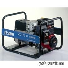 Бензиновый сварочный генератор с переменным током до 170 А - VX 170/4l