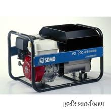 Бензиновый сварочный генератор с постоянным током до 200А - VX 200/4H