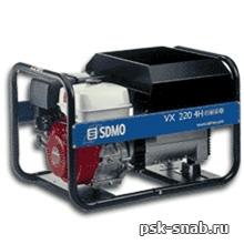 Бензиновый сварочный генератор с постоянным током до 220А - VX 220/7,5H