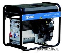 Бензиновый сварочный генератор с постоянным током до 300А - WeldArc 300TE