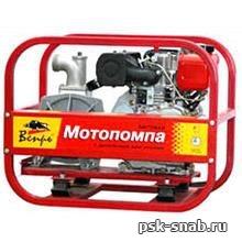 Дизельная мотопомпа для чистой или слабозагрязненной воды Вепрь МП 800 ДЯ