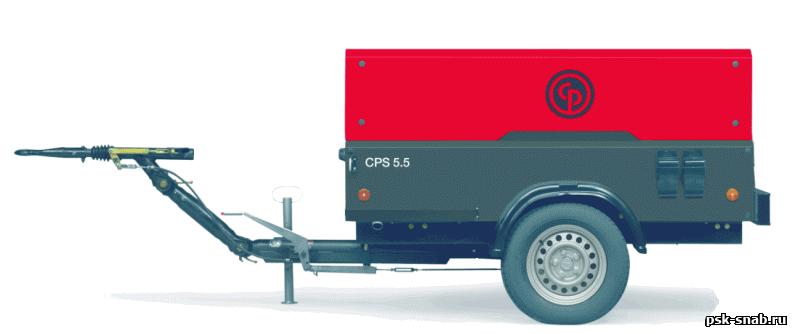 Дизельный передвижной компрессор Chicago Pneumatic CPS 185