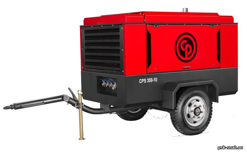 Дизельный передвижной компрессор  Chicago Pneumatic CPS350-12