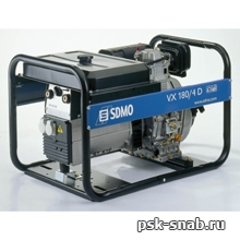 Дизельный сварочный генератор с постоянным током до 180А - VX 180/4DE