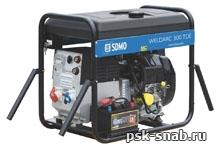 Дизельный сварочный генератор с постоянным током до 300А - WeldArc 300TDE
