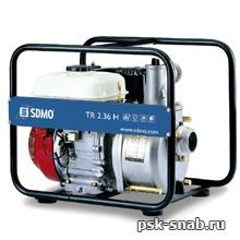 Мотопомпа для перекачки слабозагрязненной воды. SDMO ST 2,36 H