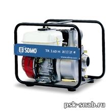 Мотопомпа для перекачки воды средней степени загрязненности SDMO TR 3,60 H