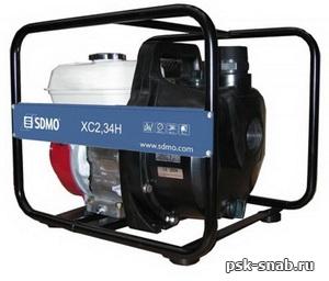 Мотопомпа SDMO для химических жидкостей и соленой воды XC 2,34Н