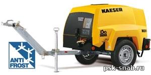 Передвижной дизельный компрессор Kaeser M20