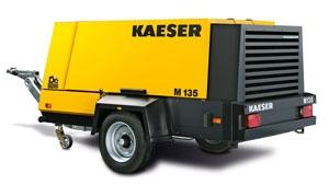 Передвижной компрессор с дизельным приводом KAESER M 135