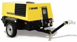Передвижной компрессор с электрическим приводом KAESER М 46 Е