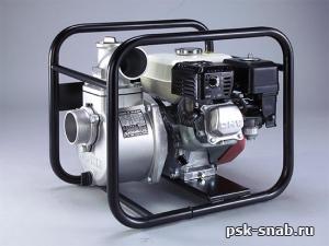 Бензиновая мотопомпа для чистой или слабозагрязненной воды Кoshin STH 80 X
