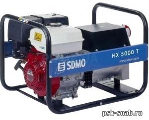 Бензиновый генератор SDMO HX 5000 TC (HX 5000 TS)