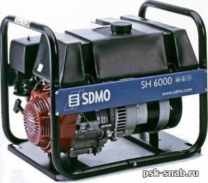Бензиновый генератор SDMO SH 6000-C (SH 6000-S)