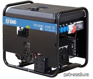 Бензиновый генератор SDMO TECHNIC 9000 TE