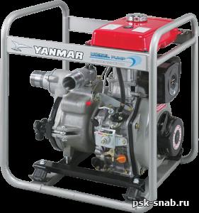 Дизельная мотопомпа грязевая Yanmar YDP20TN