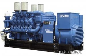 Дизельная трехфазная электростанция EXEL II X1650С