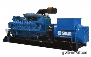 Дизельная трехфазная электростанция EXEL II X2800