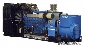 Дизельная трехфазная электростанция PACIFIC II T2200C