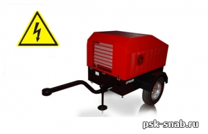 Электрический передвижной компрессор Chicago Pneumatic CPS 130 E