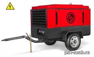 Электрический передвижной компрессор Chicago Pneumatic CPS400 Е-10