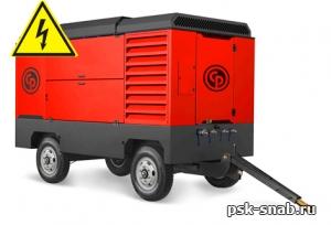 Электрический передвижной компрессор Chicago Pneumatic CPS600E-10