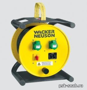 Электронный преобразователь частоты и напряжения с кабельным барабаном Wacker Neuson  KTU 2 / 250 / 200W