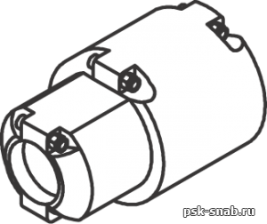 Глушитель для перфоратора CRH-4 18194003