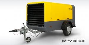 Компрессор передвижной Comprag PORTA 10 с производительностью 10 м3/мин
