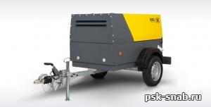 Компрессор передвижной Comprag PORTA 3 с производительностью 3 м3/мин