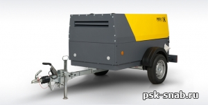 Компрессор передвижной Comprag PORTA 5 с производительностью 5 м3/мин
