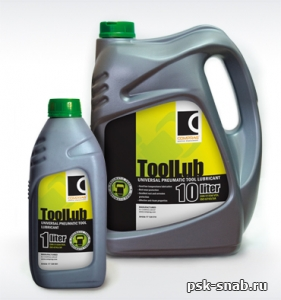 Масло серии ToolLub для пневмоинструмента Comprag