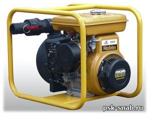 Мотопомпа бензиновая для среднезагрязненной соленой воды Subaru PACE 52