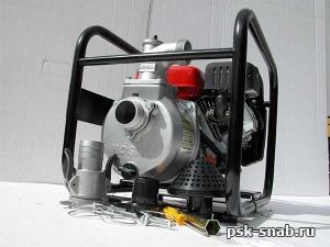 Мотопомпа бензиновая пожарная-высоконапорная Кoshin SEM-50V