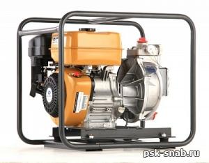 Мотопомпа бензиновая высоконапорная Caiman QP-T205SLT