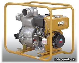 Мотопомпа дизельная для сильнозагрязненных жидкостей Subaru PTD206T