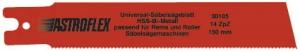 Ножовочные полотна Astroflex HSS-Bi-Metal для резки в труднодоступных местах, резки в одной плоскости