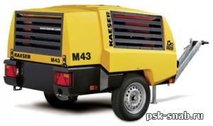 Передвижной дизельный компрессор Kaeser M43