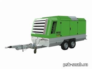 Передвижной компрессор Atmos PD 225
