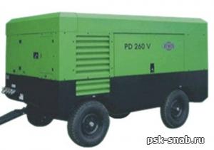 Передвижной компрессор Atmos PD 260V