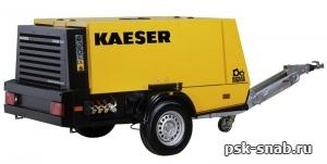 Передвижной компрессор с дизельным приводом KAESER M 100