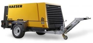 Передвижной компрессор с дизельным приводом KAESER M 170