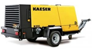 Передвижной компрессор с дизельным приводом KAESER M 200