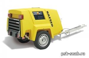Передвижной компрессор с дизельным приводом KAESER M 26