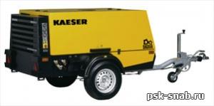 Передвижной компрессор с дизельным приводом KAESER M 52