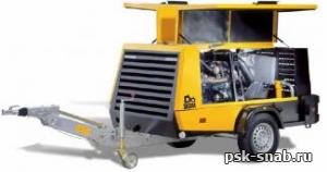 Передвижной компрессор с дизельным приводом KAESER M 70